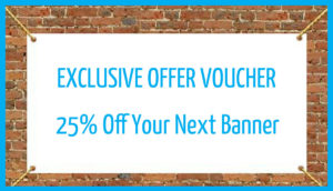 25% off banners