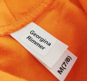 washable stick in name labels for kids